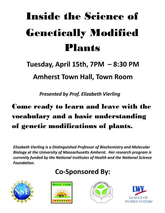 GMO Talk #1 April14